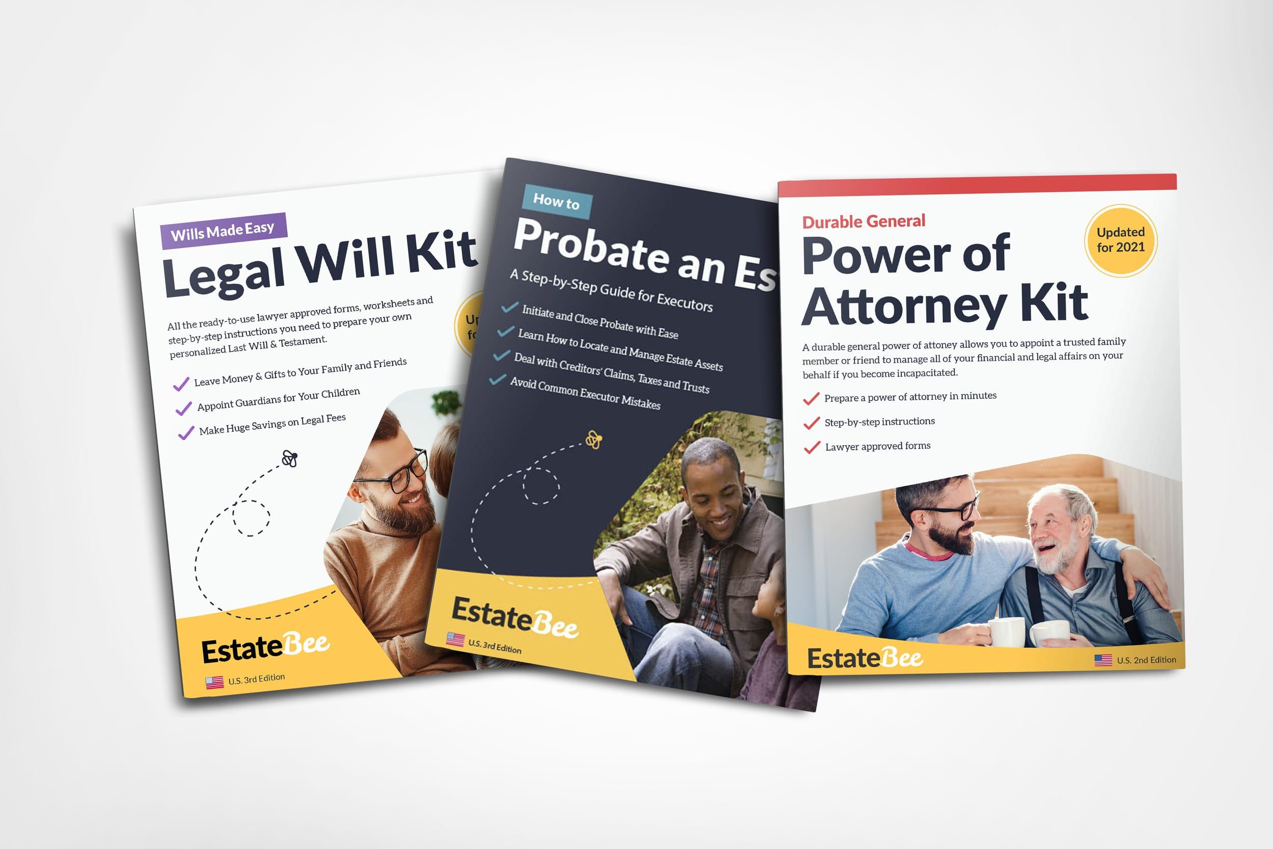 EstateBee book covers