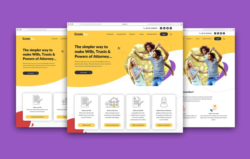 EstateBee Homepages