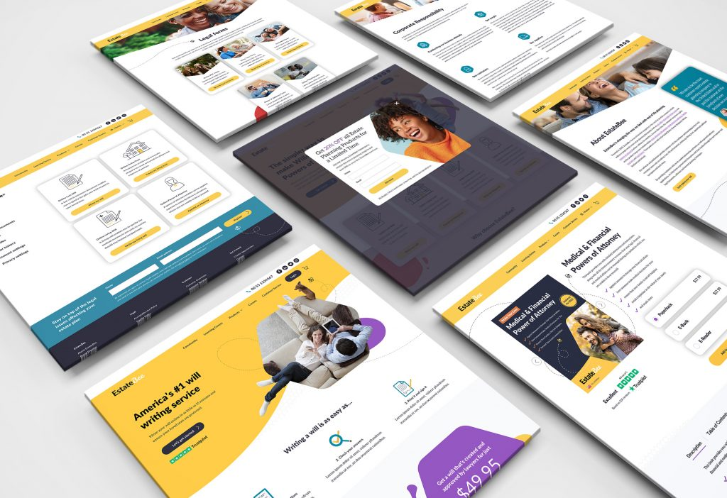 EstateBee Web Pages